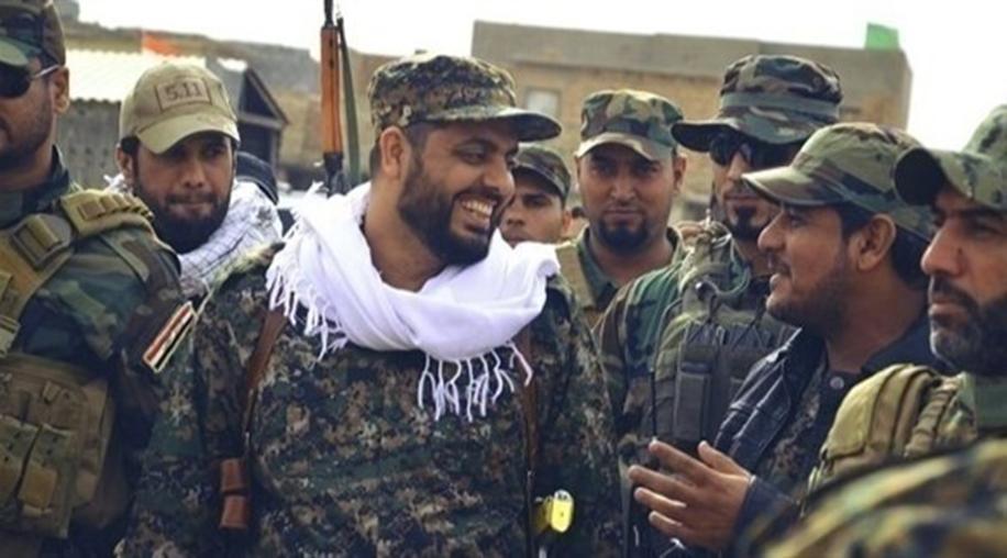"عکس آرشیوی، قیس خزعلی، رهبر شبهنظامیان ""عصائب اهل حق"""