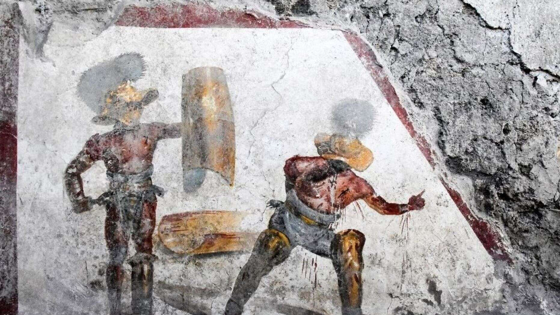 PRESS OFFICE OF THE POMPEI ARCHAEOLOGICAL PARK / AFP