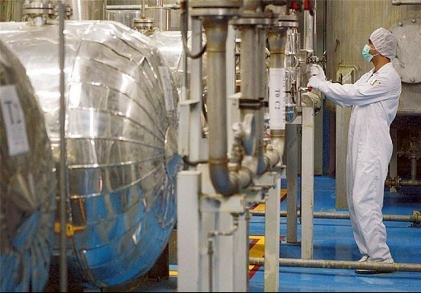 بدأ تخصيب اليورانيوم الايراني