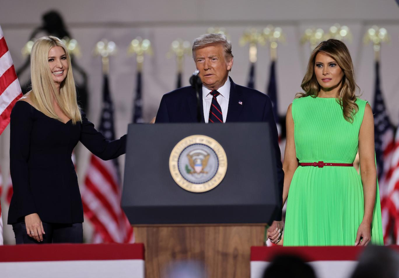 دونالد ترامپ در گردهمایی ملی جمهوریخواهان: تروریست شماره یک جهان را کشتیم | ایندیپندنت فارسی